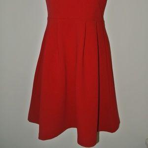 Forever 21 Dresses - Red Strapless Skater Dress